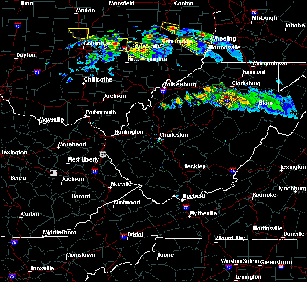 Radar Image for Severe Thunderstorms near Weston, WV at 10/2/2018 6:52 PM EDT