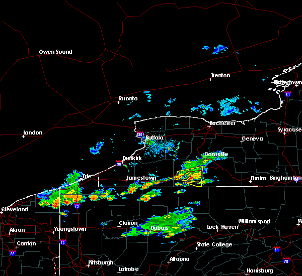 Radar Image for Severe Thunderstorms near Scio, NY at 10/6/2018 4:59 PM EDT