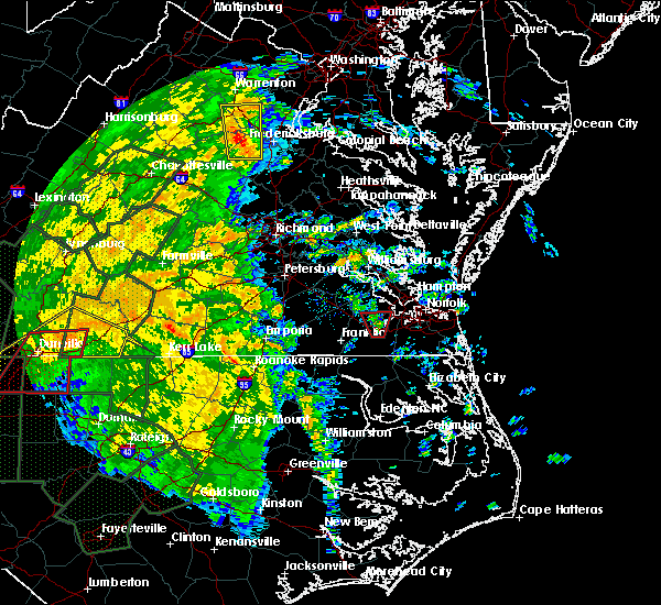 Radar Image for Severe Thunderstorms near Windsor, VA at 10/11/2018 3:54 PM EDT