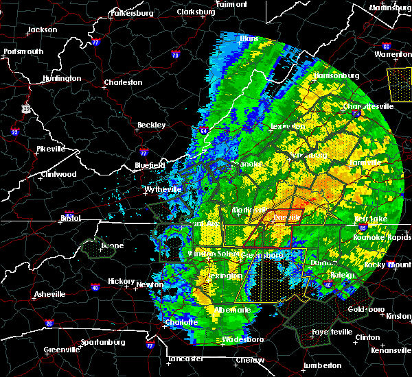 Radar Image for Severe Thunderstorms near Mountain Road, VA at 10/11/2018 4:04 PM EDT