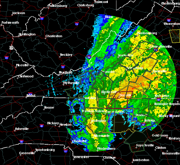 Radar Image for Severe Thunderstorms near Eden, NC at 10/11/2018 4:10 PM EDT