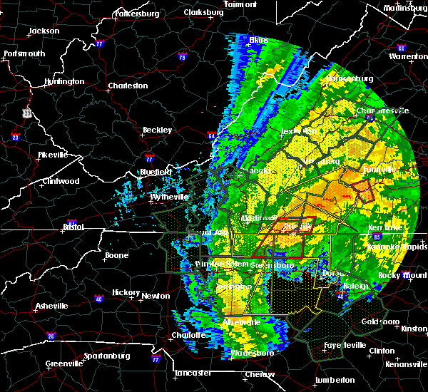 Radar Image for Severe Thunderstorms near Mountain Road, VA at 10/11/2018 4:28 PM EDT