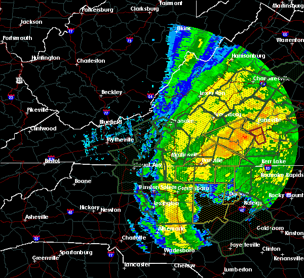 Radar Image for Severe Thunderstorms near Eden, NC at 10/11/2018 4:44 PM EDT