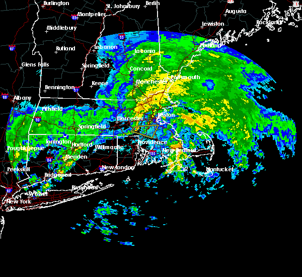 Radar Image for Severe Thunderstorms near Medfield, MA at 10/11/2018 4:53 PM EDT