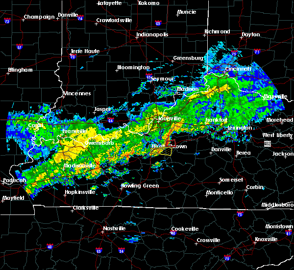 Radar Image for Severe Thunderstorms near Bardstown, KY at 10/31/2018 6:23 PM EDT