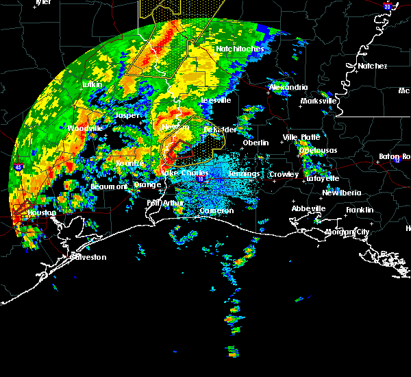 Radar Image for Severe Thunderstorms near Oretta, LA at 10/31/2018 8:49 PM CDT
