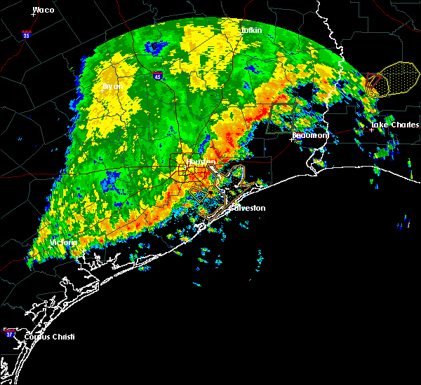 Radar Image for Severe Thunderstorms near Alvin, TX at 10/31/2018 9:45 PM CDT