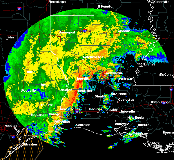Radar Image for Severe Thunderstorms near Ball, LA at 10/31/2018 11:34 PM CDT