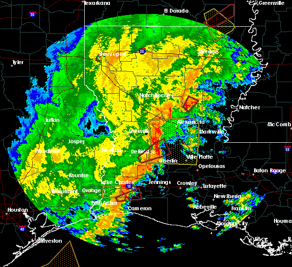 Radar Image for Severe Thunderstorms near Ball, LA at 11/1/2018 12:14 AM CDT