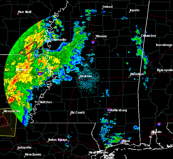 Radar Image for Severe Thunderstorms near Eudora, AR at 11/1/2018 12:18 AM CDT