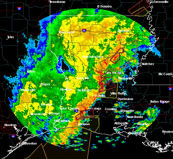 Radar Image for Severe Thunderstorms near Ball, LA at 11/1/2018 12:37 AM CDT