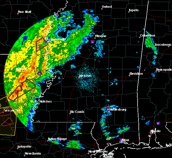 Radar Image for Severe Thunderstorms near Eudora, AR at 11/1/2018 12:48 AM CDT