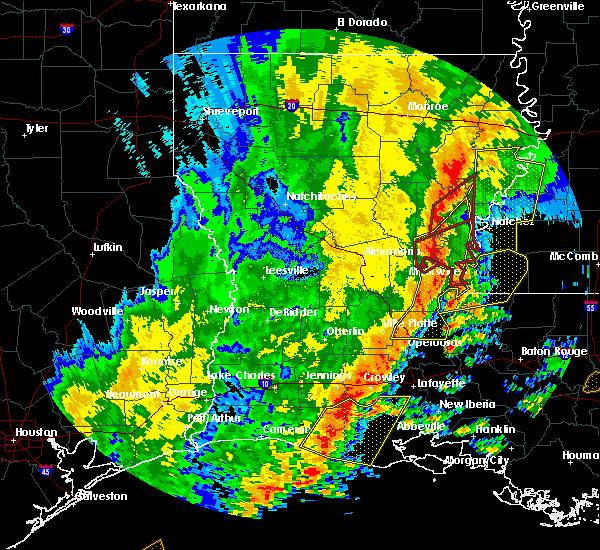 Radar Image for Severe Thunderstorms near Crosby, MS at 11/1/2018 1:34 AM CDT