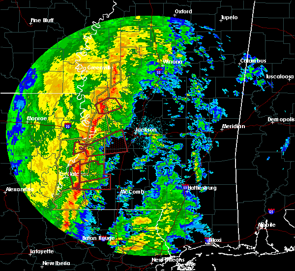 Radar Image for Severe Thunderstorms near Beechwood, MS at 11/1/2018 2:31 AM CDT