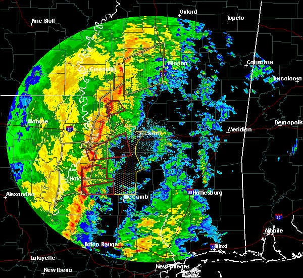 Radar Image for Severe Thunderstorms near Crystal Springs, MS at 11/1/2018 2:43 AM CDT
