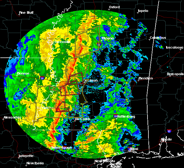 Radar Image for Severe Thunderstorms near Edwards, MS at 11/1/2018 2:59 AM CDT