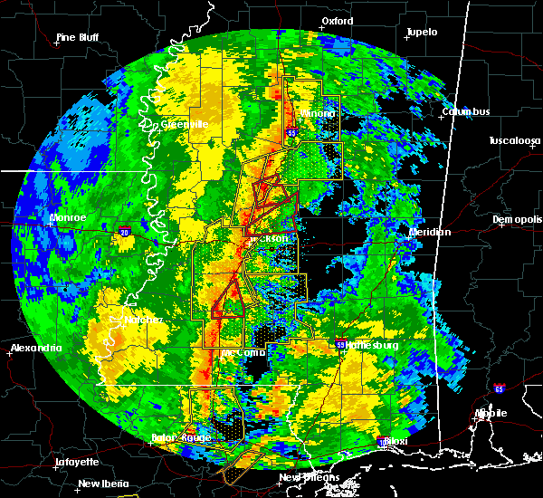 Radar Image for Severe Thunderstorms near Ridgeland, MS at 11/1/2018 3:39 AM CDT