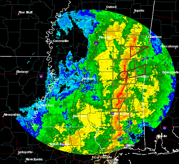 Radar Image for Severe Thunderstorms near Lauderdale, MS at 11/1/2018 5:42 AM CDT