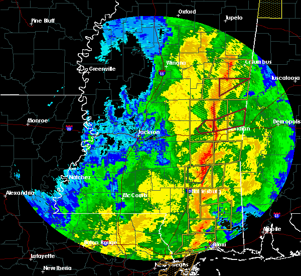 Radar Image for Severe Thunderstorms near Heidelberg, MS at 11/1/2018 5:48 AM CDT