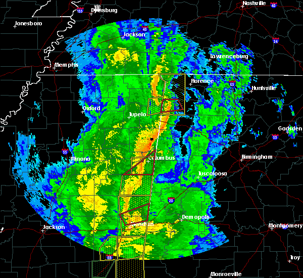 Radar Image for Severe Thunderstorms near Belgreen, AL at 11/1/2018 6:07 AM CDT