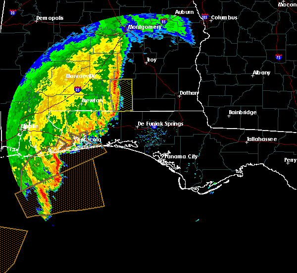 Radar Image for Severe Thunderstorms near River Falls, AL at 11/1/2018 9:56 AM CDT