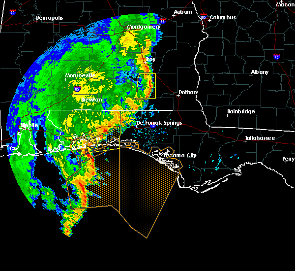 Radar Image for Severe Thunderstorms near Midway, FL at 11/1/2018 10:48 AM CDT