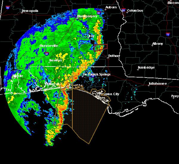 Radar Image for Severe Thunderstorms near Niceville, FL at 11/1/2018 11:22 AM CDT
