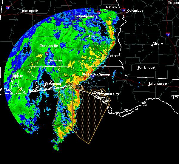 Radar Image for Severe Thunderstorms near Niceville, FL at 11/1/2018 11:55 AM CDT