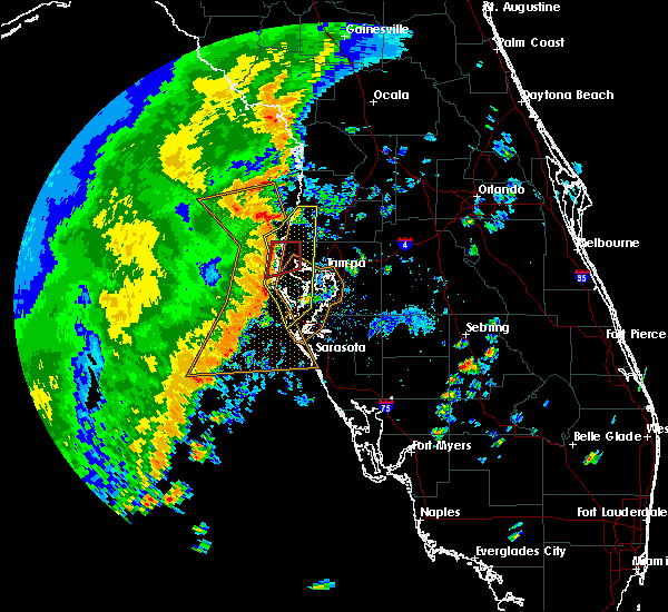 Radar Image for Severe Thunderstorms near Largo, FL at 11/2/2018 2:56 PM EDT