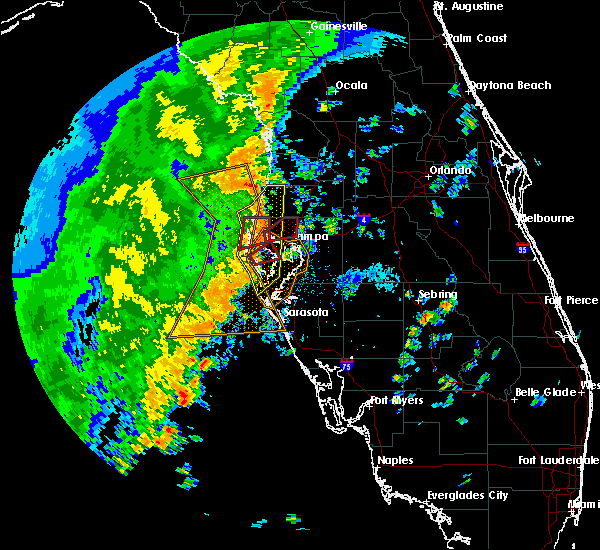 Radar Image for Severe Thunderstorms near Cheval, FL at 11/2/2018 3:12 PM EDT
