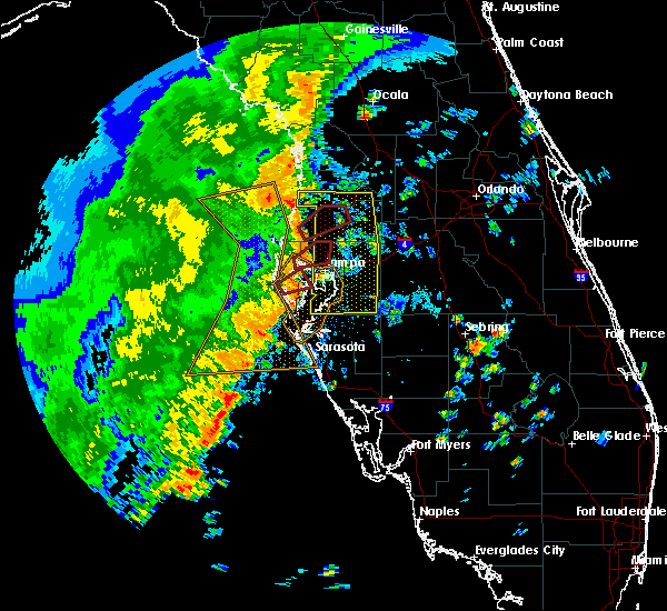 Radar Image for Severe Thunderstorms near Brandon, FL at 11/2/2018 3:19 PM EDT