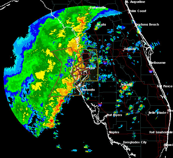 Radar Image for Severe Thunderstorms near Tampa, FL at 11/2/2018 3:24 PM EDT