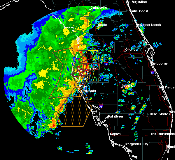 Radar Image for Severe Thunderstorms near Lutz, FL at 11/2/2018 3:27 PM EDT