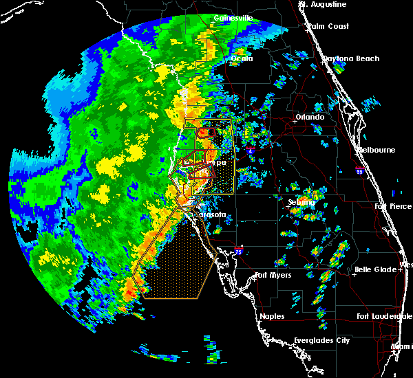 Radar Image for Severe Thunderstorms near Lutz, FL at 11/2/2018 3:40 PM EDT