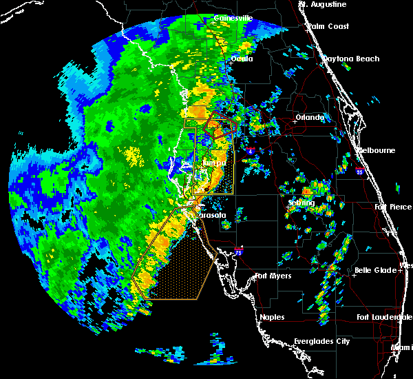 Radar Image for Severe Thunderstorms near Brooksville, FL at 11/2/2018 3:48 PM EDT