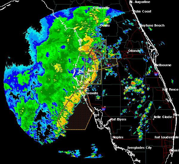 Radar Image for Severe Thunderstorms near Brooksville, FL at 11/2/2018 3:51 PM EDT