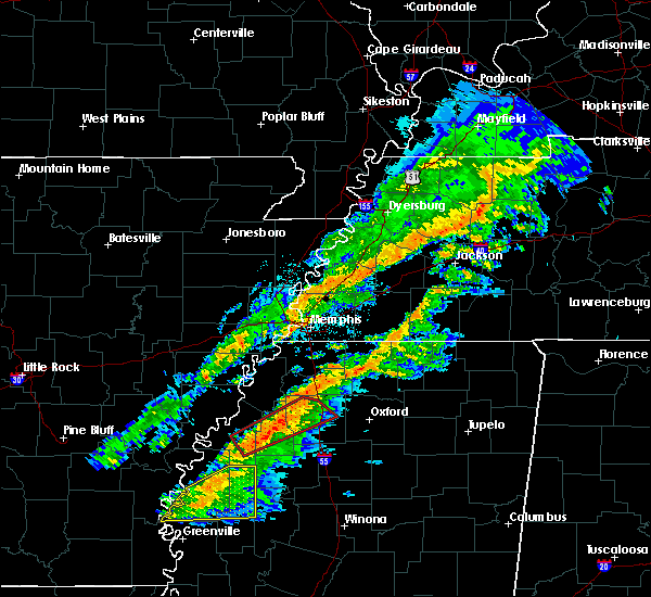Radar Image for Severe Thunderstorms near Marks, MS at 11/5/2018 8:11 PM CST