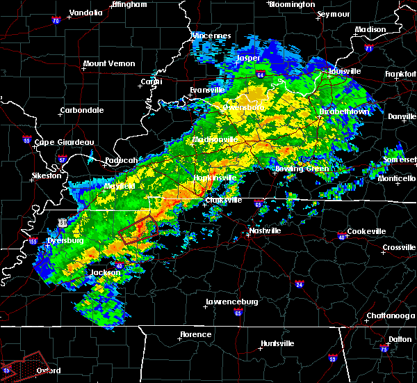 Radar Image for Severe Thunderstorms near Big Sandy, TN at 11/5/2018 8:36 PM CST