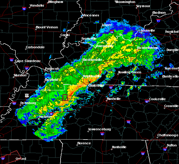 Radar Image for Severe Thunderstorms near Big Sandy, TN at 11/5/2018 8:51 PM CST