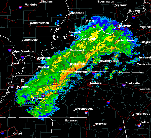Radar Image for Severe Thunderstorms near Big Sandy, TN at 11/5/2018 8:54 PM CST