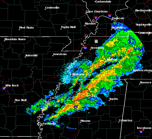 Radar Image for Severe Thunderstorms near Webb, MS at 11/5/2018 9:12 PM CST
