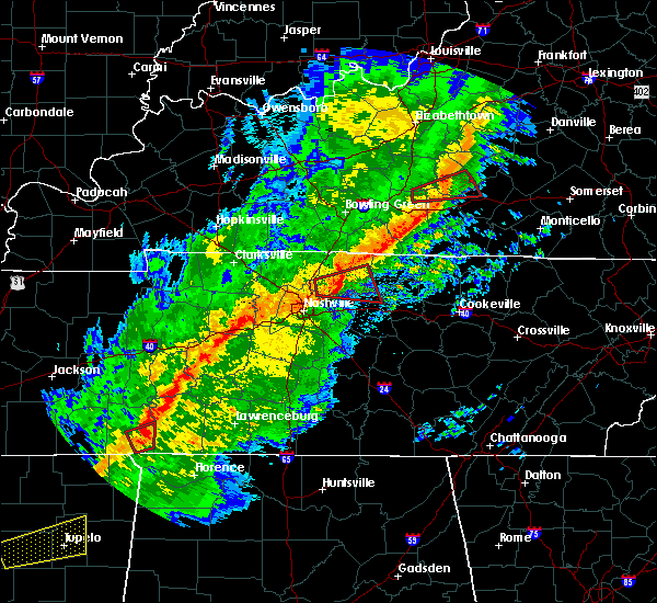Radar Image for Severe Thunderstorms near Clifton, TN at 11/5/2018 10:35 PM CST