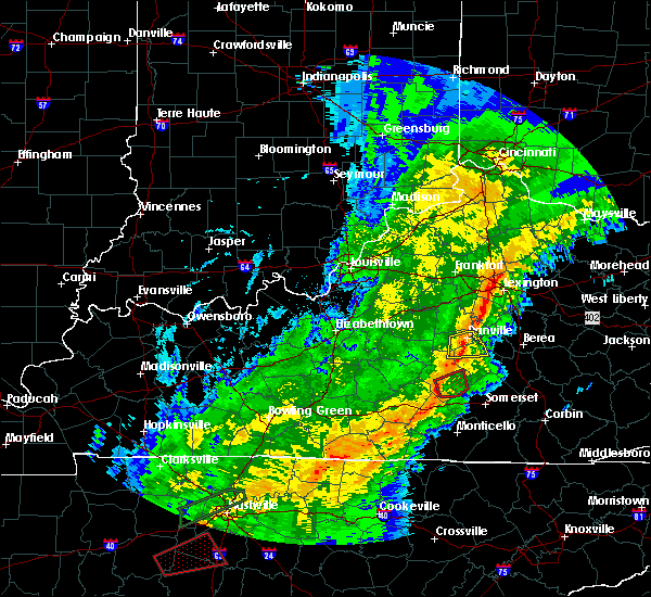 Radar Image for Severe Thunderstorms near Liberty, KY at 11/6/2018 12:22 AM EST