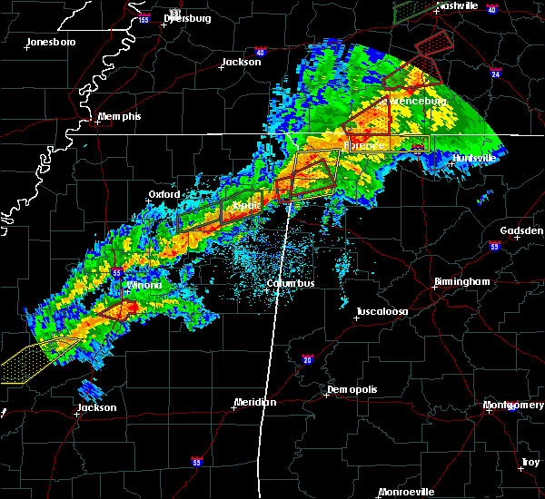Radar Image for Severe Thunderstorms near Belgreen, AL at 11/5/2018 11:50 PM CST