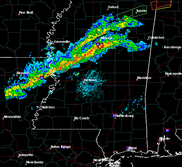 Radar Image for Severe Thunderstorms near Eden, MS at 11/5/2018 11:57 PM CST