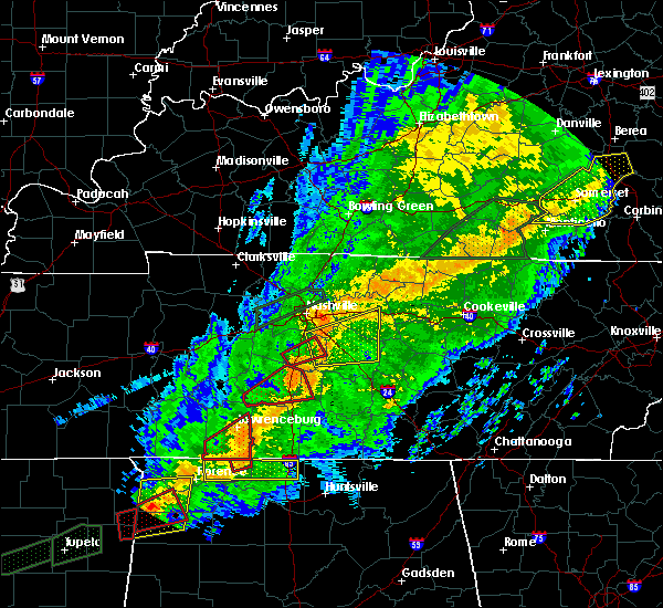 Radar Image for Severe Thunderstorms near Walterhill, TN at 11/6/2018 12:00 AM CST