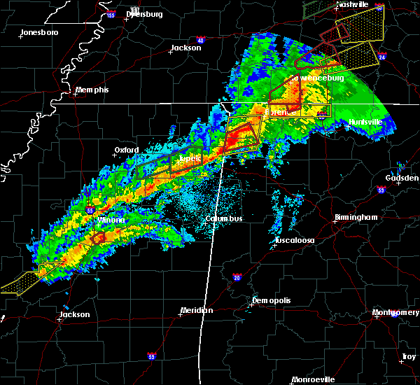 Radar Image for Severe Thunderstorms near Russellville, AL at 11/6/2018 12:03 AM CST