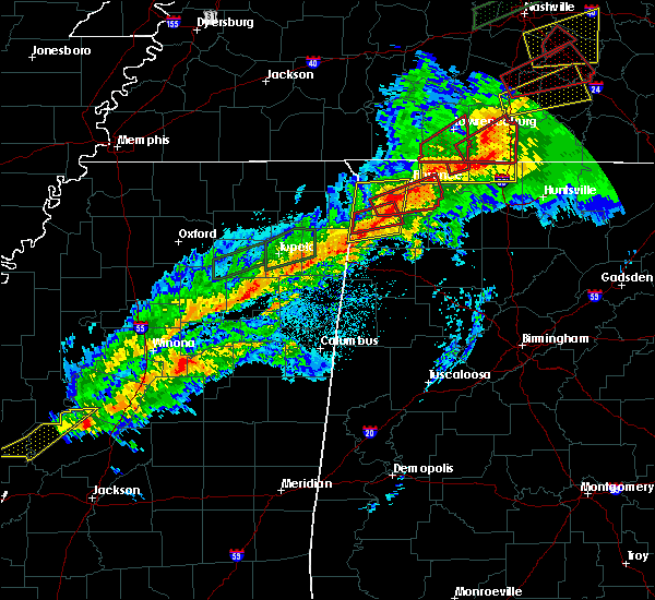 Radar Image for Severe Thunderstorms near Belgreen, AL at 11/6/2018 12:13 AM CST