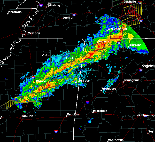 Radar Image for Severe Thunderstorms near Belgreen, AL at 11/6/2018 12:25 AM CST