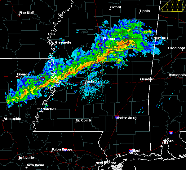 Radar Image for Severe Thunderstorms near Sallis, MS at 11/6/2018 12:50 AM CST